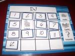 Workboxes - Schedule Card